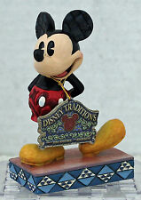 "Mickey Mouse ""The Original"" 4032853 Jim Shore Disney Showcase Collection  ou626"