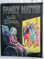 FAMILY MATTER WILL EISNER RARE EDITION EN ANGLAIS DE 1998