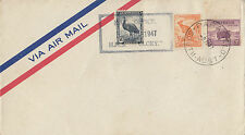 Stamps various Australia Mail office HMS Glory ship postmark Bergen Parafield