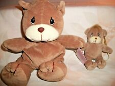 Precious Moments Tender Tails Teddy Bear Mom And Baby Ornament With Tags