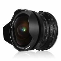 RISESPRAY 7.5mm F2.8 Manual Fisheye Fixed Lens for Sony E Mount NEX-3R NEX-C3 ne