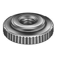 GRAINGER APPROVED Z0277 Thumb Nut,5/16-18,Steel,Black Oxide