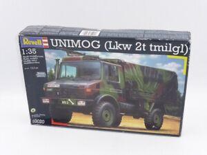 Revell 03020 UNIMOG (Lkw 2t tmilgl) Plastic 1:35 Scale kit