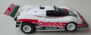 AFX AURORA TOMY LE MANS CASTROL JAGUAR  #34 SLOT CAR