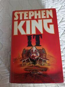 Stephen King Hardback Book IT used Book Club Associates