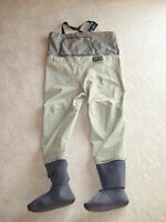 Men Orvis Silver Label Breathable Stocking Foot Fishing Wader Size Large