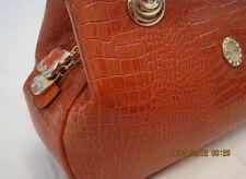 Women Fashion Bag -  Burgundy Leather, Handbag/Tote/Purse Bag