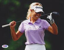 Natalie Gulbis SIGNED 8x10 Photo LPGA Tour PSA/DNA AUTOGRAPHED