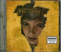 AND YOU WILL KNOW US BY THE TRAIL OF DEAD-So Divided CD-Bonus Track-BRAND NEW