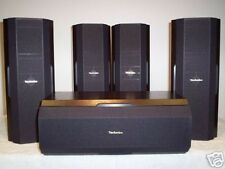 & GT e GT TECHNICS sb-afc250-5 HOME CINEMA 100W 5PACK ALTOPARLANTI