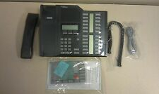 *REFURB* Nortel Norstar M7324 NT8B42 Charcoal Black office display telephone
