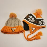 Tennessee Volunteers Vols Toboggan Tassel Winter Knit Hat Cap Beanie NCAA pair 2