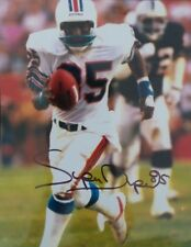 """Great Miami Dolphins Mark """"Super"""" Duper Signed 8 x 10"""" Autographed Photograph"""