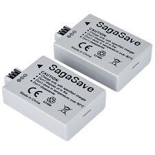 2x 1200mAh High Power Battery for LP-E5 Canon EOS 500D 450D 1000D Kiss X2 X3