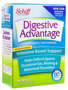 Schiff Digestive Advantage Intensive Bowel Support - 96 capsules
