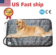 Large Self Heating Dog Bed Mat Soft Warm Pet Cat Rug Thermal Washable Pad Usa