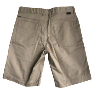 North Face Mens Brown Hiking Walking Cotton Shorts Regular Fit Size W30