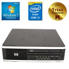 PC MINI COMPUTER DESKTOP RICONDIZIONATO HP QUAD CORE i5 RAM 4GB 250GB WINDOWS 7