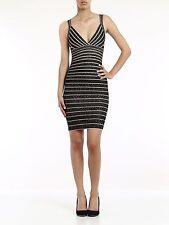 Herve Leger Zahera Dress NWT, Black / Combo, Tank, Size M
