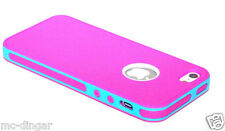 NEW ShockProof Dirt Dust Proof Rose/Teal Hard Matte case cover for iPhone 5 5S