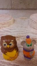 Hallmark Merry Miniature Halloween Owl and Clown Mouse