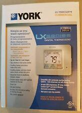 York  S1-TBSU32P7Y Commercial Programmable/non Digital Thermostat NIB