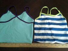 Girls tank top swimwear seperates lot of 2 size XS new