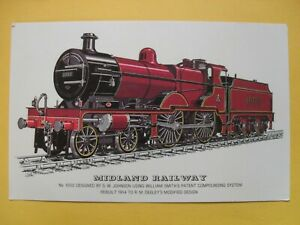 Picture Postcard Midland Railway No 1000