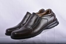 *Dockers Pro Style Men's Brown Leather Slip On Loafer Motion Comfort Shoes 13 M