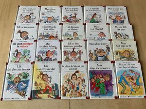 lot 20 livres MAX et LILI - Ainsi va la vie