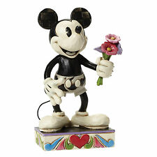 WALT DISNEY SHOWCASE COLLECTION TRADITIONS MICKEY MOUSE FOR MY GAL 4043665 NEW