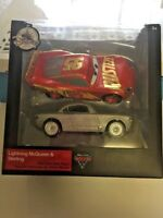 Disney Parks Cars Lightning McQeen And Sterling Die Cast Car Set 2 Pack Die Cast