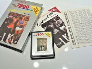 One on One Basketball Atari 7800 Complete Atari 7800 Video Game System