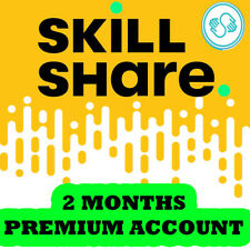 Premium Membership Skillshare 2 Months of Premium Learning