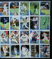 2010 Topps Series 1 & 2 San Diego Padres Team Set of 20 Baseball Cards