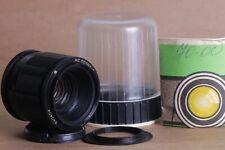 MC Volna 9 f/2.8 50mm Russian Portrait MACRO Lens DSLR M42 + Adapter for Nikon