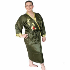 Plus Size Kimono Machine Washable Sleepwear for Women