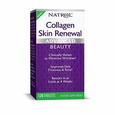 Natrol Collagen Skin Renewal Advanced Beauty, 120 Tablets NIB