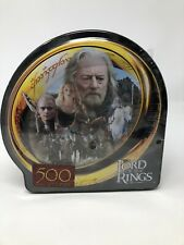 The Lord Of The Rings Tin Puzzle 500 Pieces Flight Of Plainsmen MB Puzzle Hasbro
