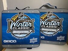 TWO 2011 BRIDGESTONE WINTER CLASSIC SEAT CUSHONS