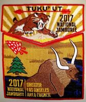 TUKU'UT 33 GREATER LOS ANGELES AREA CA OA 2-PATCH 2017 JAMBOREE FUNDRAISER FLAP