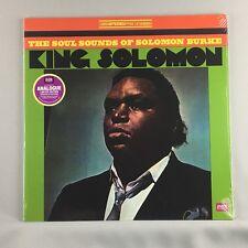 Solomon Burke – King Solomon - New Sealed 180 Gram Import Ltd Ed LP