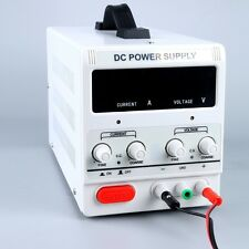 Variable Adjustable Lab DC Bench Power Supply 0-30V 0-5A Power Supply US STOCK