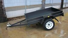 "6x4 L/D 9""sides Smooth Floor Trailer"