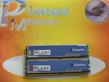 Kingston 4GB 2X2GB DDR2 PC2-6400 800MHz 240pin NON ECC Desktop KHX6400D2B1K2/4G
