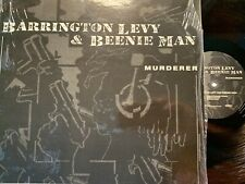 """Barrington Levy & Beenie Man """"Murderer"""" with Madhouse Mixes 1995 Priority Reggae"""