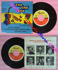 LP 45 7'' GINO MESCOLI ORCHESTRA The millionaire Cha cha segretaria no*cd mc dvd