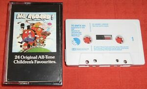 ALL ABOARD - VERY RARE UK CASSETTE TAPE - 24 ALL-TIME CHILDREN'S FAVOURITES