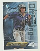 2018 Bowman Chrome TRENDING REFRACTOR FERNANDO TATIS JR RC Rookie QTY AVAILABLE