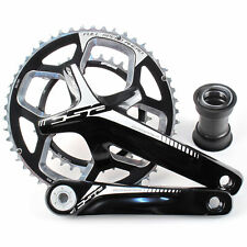 FSA Gossamer BB386 Road/Triathlon Bike Crankset 50/34 11 Speed 170mm // Black